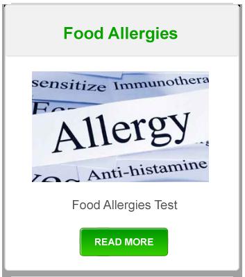 Functional Lab Tests- Food Allergies